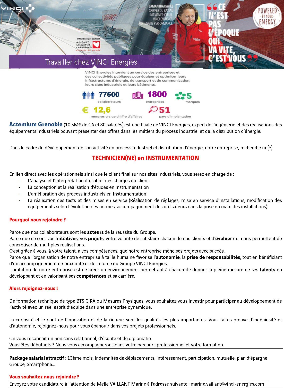 Offres D Emploi Lycée De Vizille